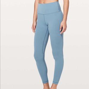 Lululemon blue align leggings size 10 brand new